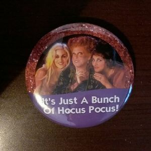 It's just a bunch of hocus pocus button